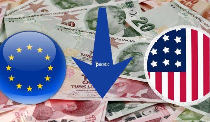 Türkiye Yaptırım Kıskacına Girerken, TL Dolar ve Euro Karşısında Zayıfladı