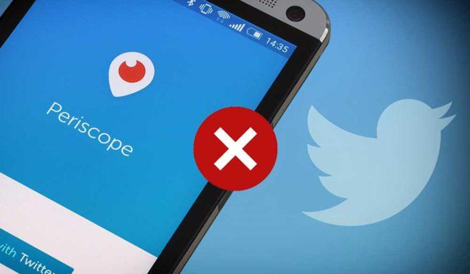 Twitter'ın, Canlı Yayın Servisi Periscope'un Fişini Çekebileceği İddia Edildi