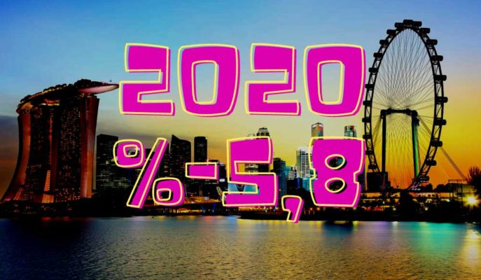 2020'de %5,8 Küçülen Singapur için %4-6 Büyüme Tahmini İyimser