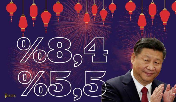 2021'de %8,4 Büyüyecek Çin'in Yükselişi 2022'de %5,5'e Gerileyecek