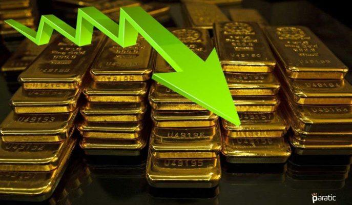 Altın, ABD Hazine Tahvil Faizlerinin Yükselmesiyle Düşüşe Geçti