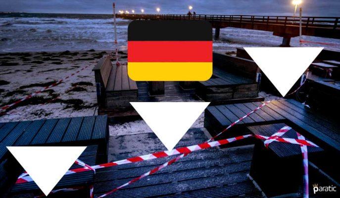 Alman Hizmet Sektörü 2020'yi Daralma Bölgesinde Tamamladı