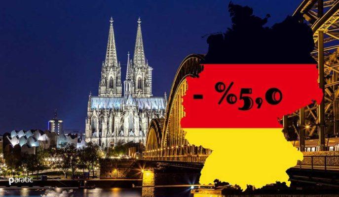 Almanya GSYİH'si 4Ç20'de %0,1 Büyürken, Yılı %5 Daralmayla Tamamladı