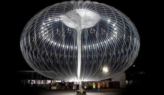 Alphabet Balonla İnternet Sunduğu Loon Projesinin Fişini Çekti