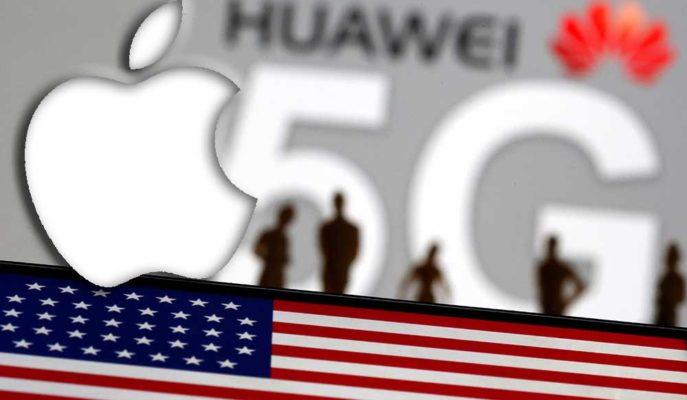 Apple Yıllar Sonra Huawei'yi Akıllı Telefon Pazarında Geçti
