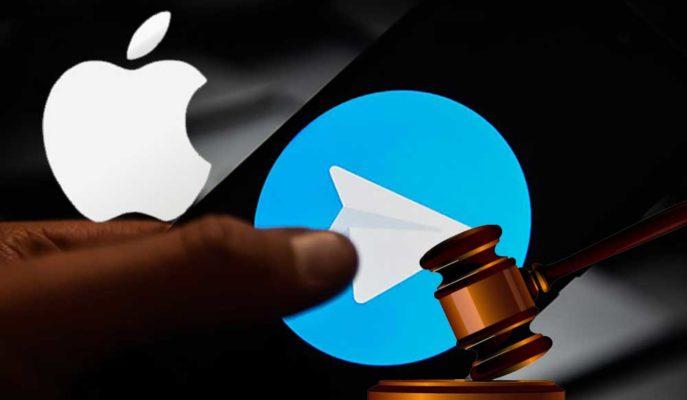 Apple'a Nefret Gruplarını Barındıran Telegram Nedeniyle Dava Açıldı