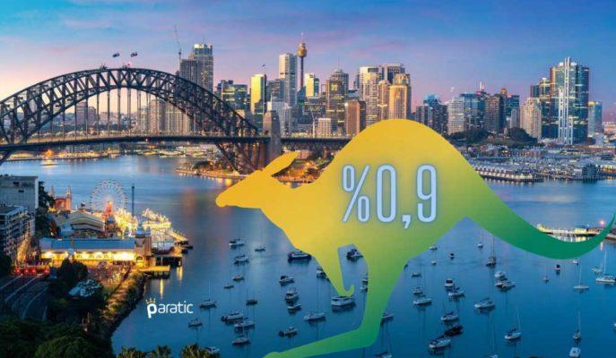 Avustralya Tüketici Fiyatları 2020 Aralık Çeyreğinde %0,9 Arttı