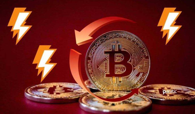 Bitcoin 32 Bin Dolar Direncini Kırdıktan Sonra Yeniden Düşüşe Geçti
