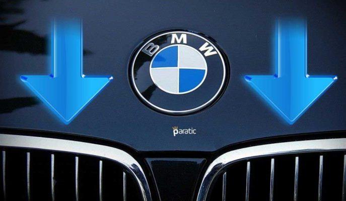 Küresel Satışlarının Azaldığını Bildiren BMW'nin Hisseleri Düşüş Gösterdi