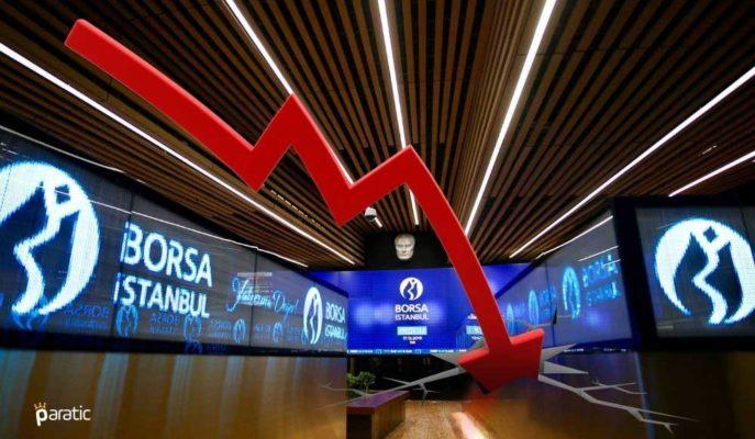 Borsa İstanbul Panik Satışlarıyla %4'ün Üzerinde Değer Kaybetti