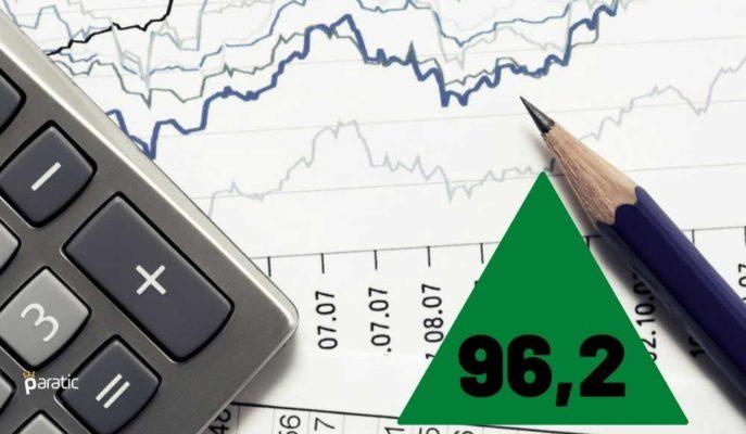 Ekonomik Güven Endeksi Ocak'ta 96,2 Değerine Yükseldi