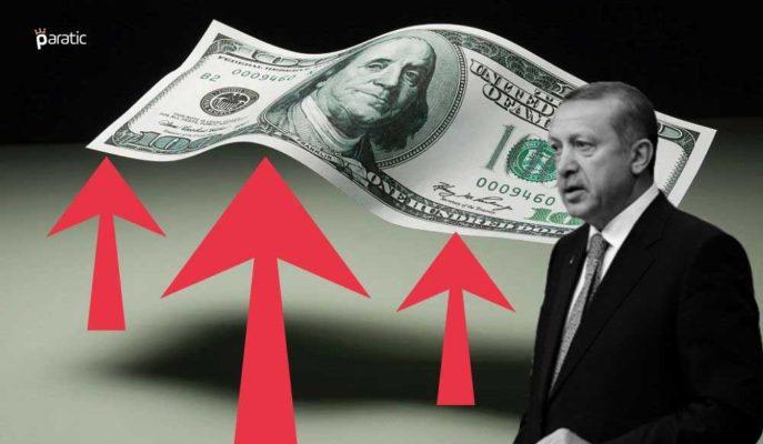 Erdoğan'ın Yüksek Faiz Karşıtı Sözlerinin Ardından Dolar 7,51'e Çıktı