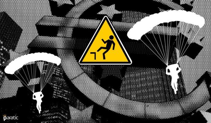Euro Bölgesi Enflasyonu Aralık'ta Negatif Kalırken Satışlar Düştü