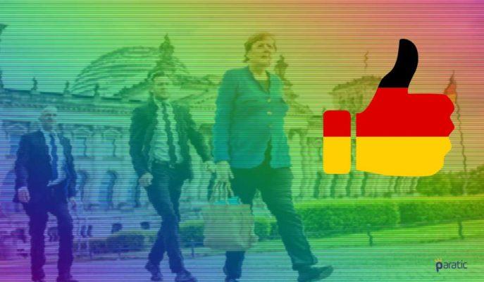 Euro Bölgesi'nin Çoğundan İyi Durumdaki Almanya'nın Görünümü Parlak