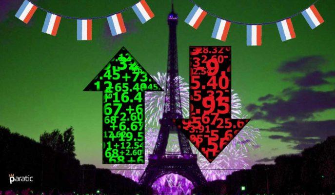 Fransa MB: Ekonomi 4Ç20'de %4 Küçülürken Faaliyet Aralık'ta Toparlandı