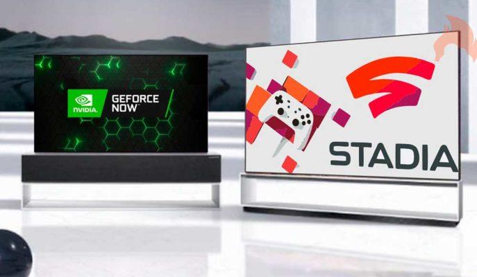 Google Stadia ve Nvidia GeForce Now, LG Akıllı TV'lere Geliyor