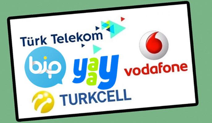 GSM Operatörleri Yerli Mesajlaşma Uygulamaların Kullanımını Kotadan Düşmeyecek