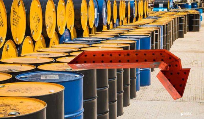 Yıla Yükselişle Başlayarak 50 Dolara Dayanan Ham Petrol Düşüşe Geçti