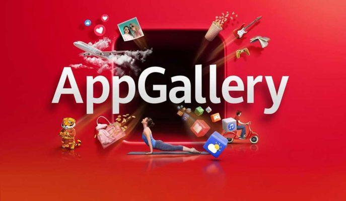 Huawei Uygulama Mağazası AppGallery için Yeni Arayüz Geliştirdi