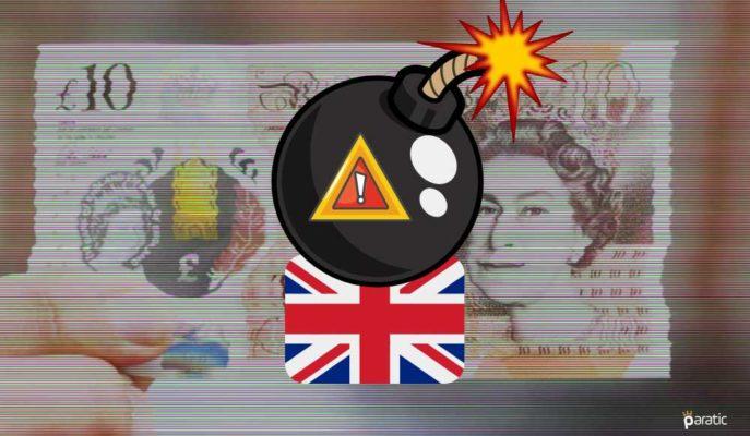 İngiltere'nin Borçlanması Aralık'ta 34 Milyar Sterlinle Yeniden Rekor Kırdı