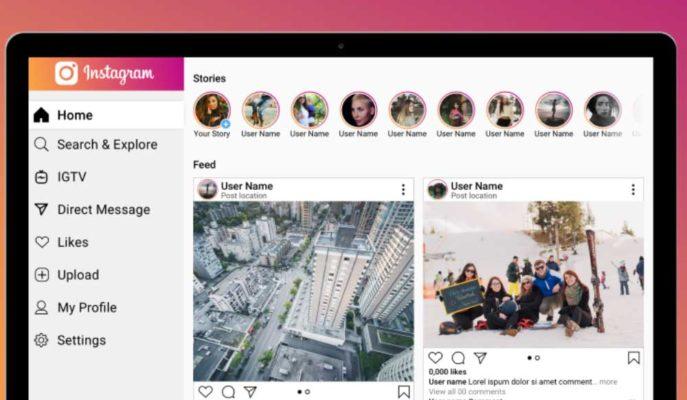 Instagram Hikayelerin Masaüstündeki Tasarımını Değiştirmeye Hazırlanıyor