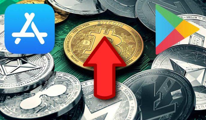 iOS ve Android Mağazalarında Kripto Para ve Finansman Uygulamalarına İlgi Arttı
