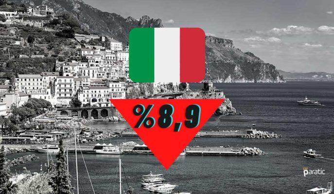 İtalya'nın İşsizlik Oranı Kasım'da Yüzde 8,9'a Geriledi