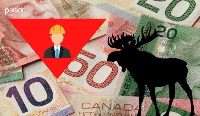 Kanada'da İstihdam Aralık'ta Nisan'dan Bu Yana İlk Kez Düştü