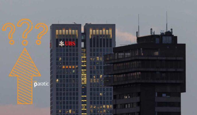 Kârında %137 Artış Bildiren UBS, Ekonomik İyileşme Endişelerinden Bahsetti