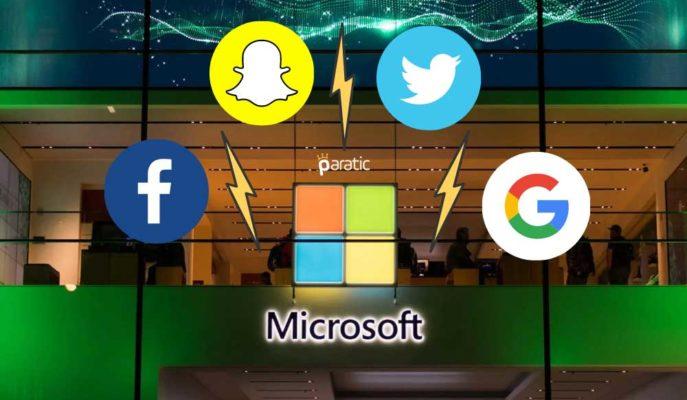 Microsoft Kazançları, Alphabet ve Facebook Hisselerine Yaradı