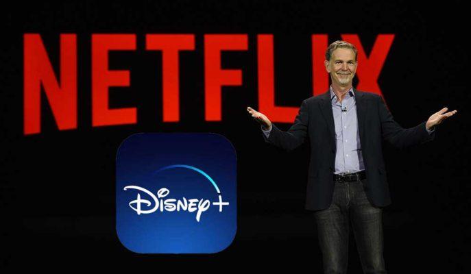Netflix CEO'su Disney Plus'ın Yükselişinden Övgüyle Söz Etti