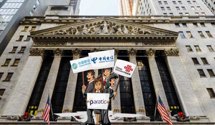 Çinli Telekom Devlerinin Hisseleri NYSE'nin Kararıyla Yükseldi