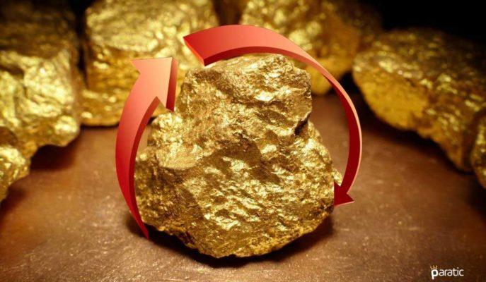 Altın Fiyatları Düşüşte! Onsu 1906 Dolara, Gramı 448 TL'ye Geriledi