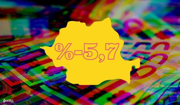 Romanya Ekonomisi 3Ç20'de %5,7 ile Önceki Tahminden Az Daraldı