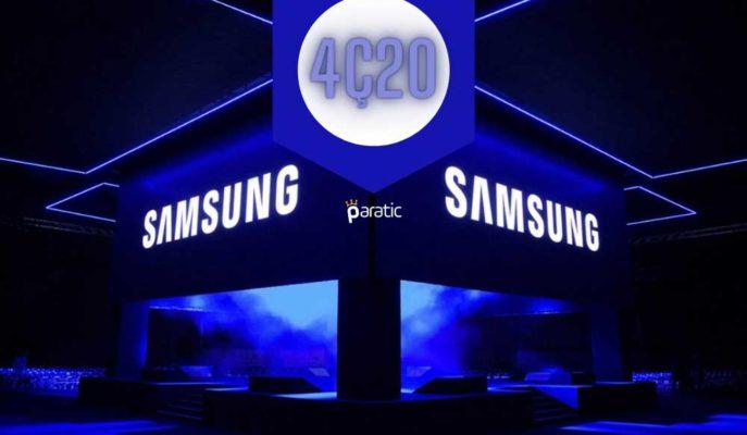 Samsung 4Ç20 için Kazanç Kılavuzunda %26'lık Kâr Artışı Açıkladı