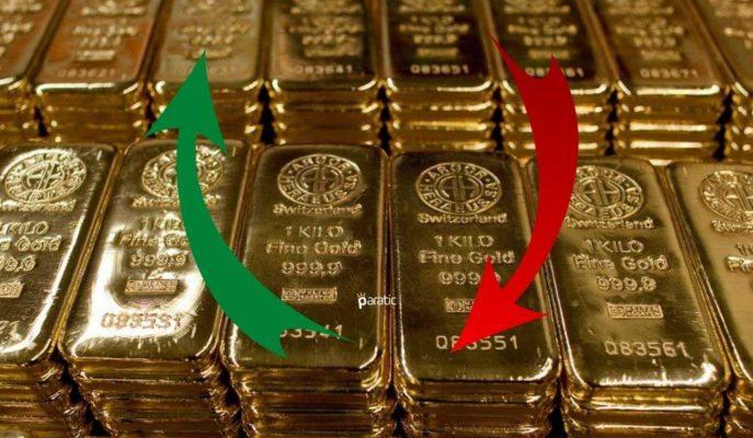 Sert Düşen Ons Altın 1817 Dolara İnerken, Gramı Yükselişte