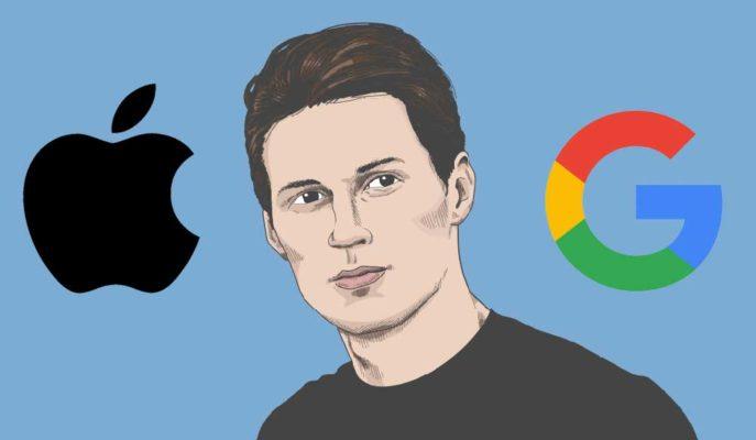 Telegram CEO'su Apple ve Google'ın En Tehlikeli Şirketler Olduğunu Söyledi