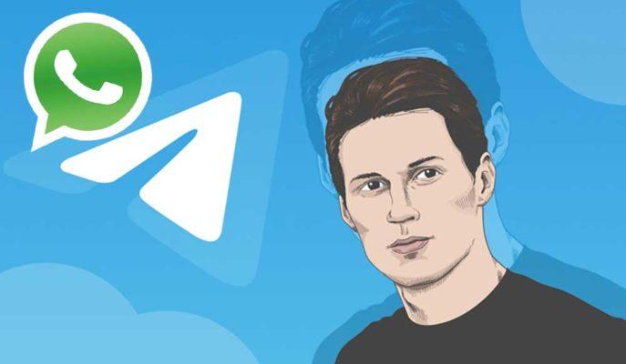 Telegram CEO'su Durov, WhatsApp'ın Değişen Gizlilik Politikasını Değerlendirdi