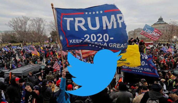 Trump Yanlıları Twitter Binası Önünde Protestoya Hazırlanıyor
