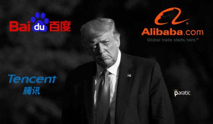 Trump Yönetimi Alibaba, Tencent ve Baidu Yatırım Yasağını Rafa Kaldırdı