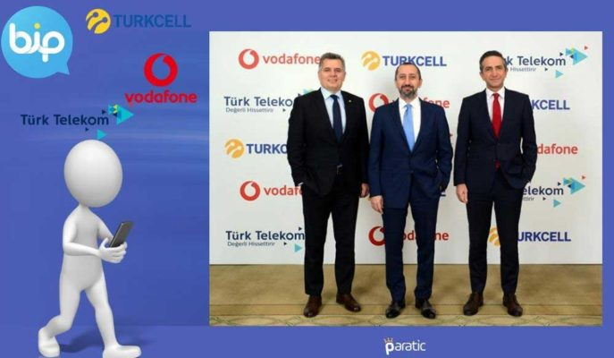 İşbirliği Anlaşması Yapan Turkcell, Türk Telekom ve Vodafone Hisseleri Düşüyor