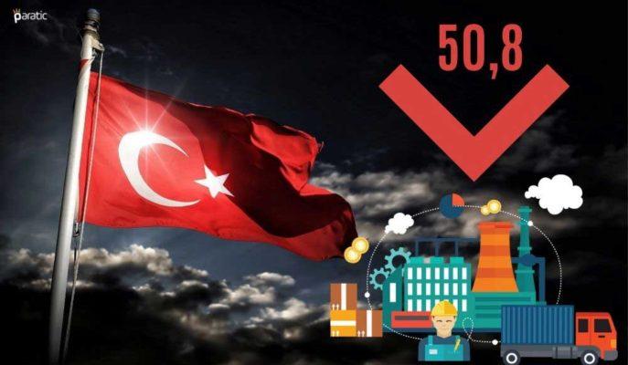 Türkiye İmalat PMI Aralık'ta Gerilese de İşe Alımlar Devam Etti