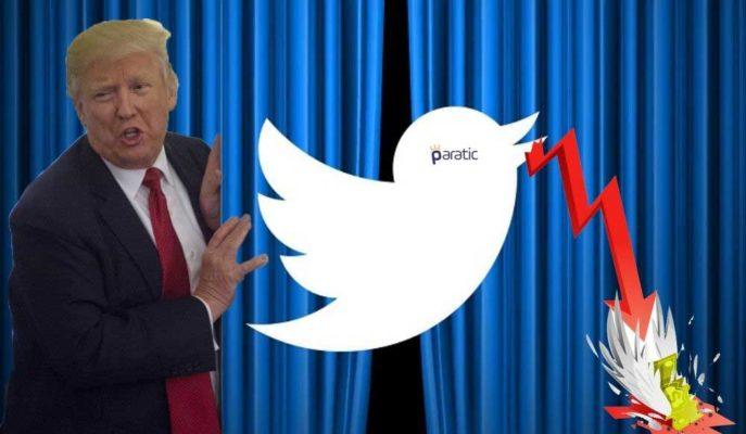 Trump Etkisi Süren Twitter Hisseleri Açılış Öncesinde %7 Değer Kaybetti