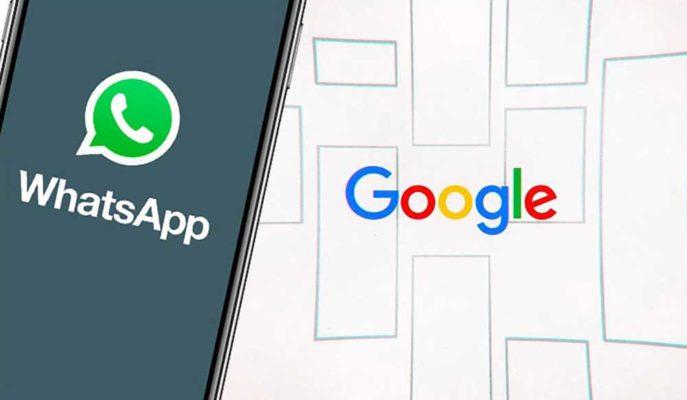 WhatsApp'ın Grup Sohbetlerini Google ile Paylaşıldığı Ortaya Çıktı