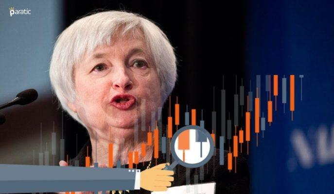 Yellen'ın Senato'daki Sunumu ABD Borsa Endekslerini Pozitif Etkiledi