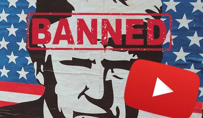 YouTube Daha önce Kapattığı Donald Trump'ın Hesabını Süresiz Askıya Aldı