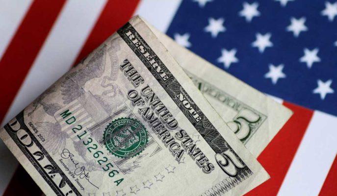 ABD'nin Bütçe Açığı 2021'in İlk Ayında 163 Milyar Dolara Yükseldi