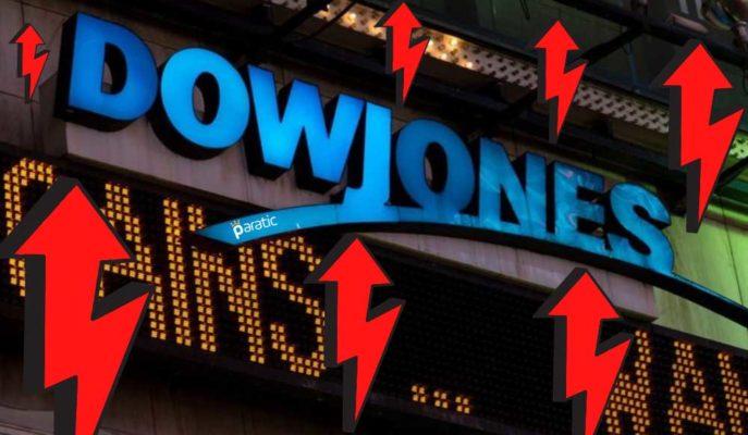 ABD Borsaları, Dow Jones Endeksinin 70 Puana Yakın Yükselişinden Destek Buldu
