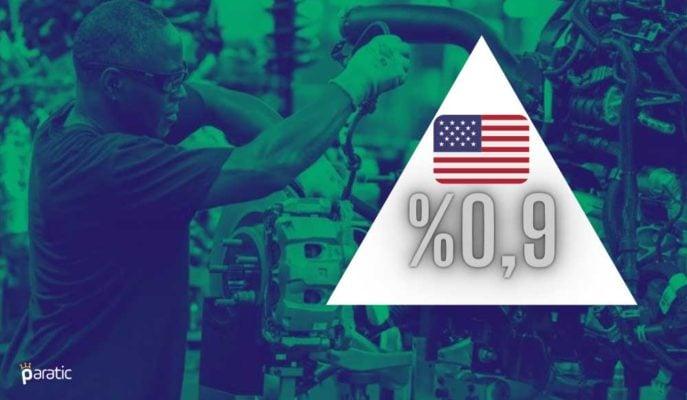 ABD Sanayi Üretimi Ocak'ta %0,9'la Beklenti Üstü Arttı