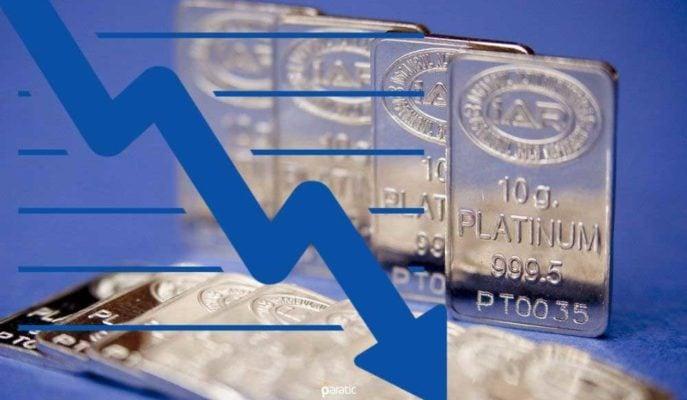 ABD Tahvil Getirisindeki Artış Platin Fiyatlarını da Düşürdü